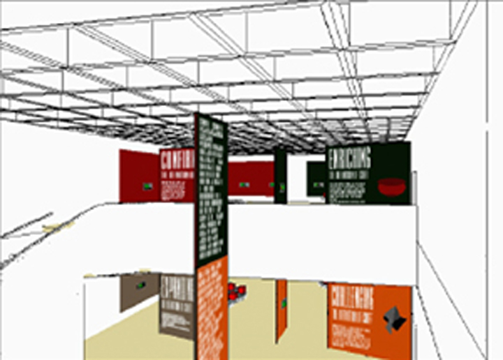 Craft Museum Exhibition - rendering